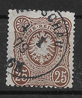 Deutsches Reich PFENNIGE 35b gestempelt (BPP WIEGAND) (2)