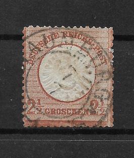 Deutsches Reich BRUSTSCHILD 21a gestempelt (BPP KRUG) (5)