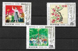 NORDKOREA 1715-1717 gestempelt