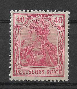 Deutsches Reich GERMANIA 145b II postfrisch (BPP BAUER)