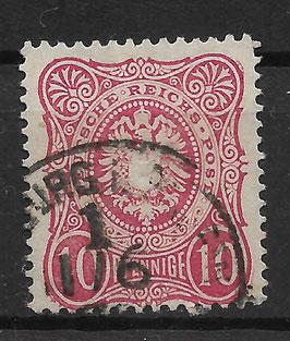 Deutsches Reich PFENNIGE 33a gestempelt (BPP WIEGAND) (8)