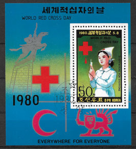 Nordkorea Block 71 gestempelt