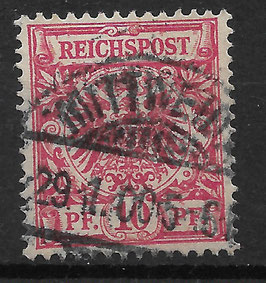 Deutsches Reich KRONE & ADLER 47db gestempelt (BPP ZENKER) (3)