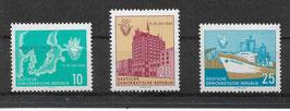 DDR 898-900 postfrisch