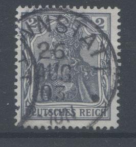 Deutsches Reich GERMANIA o. WZ 68 gestempelt