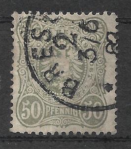 Deutsches Reich PFENNIG 44 Ia gestempelt (BPP WIEGAND) (VII)