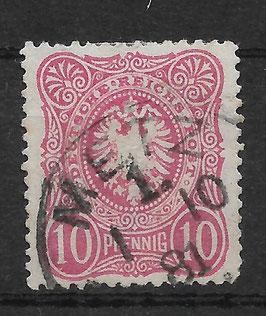 Deutsches Reich PFENNIG 41 Ia gestempelt (BPP WIEGAND) (VI)