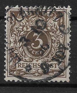 Deutsches Reich KRONE & ADLER 45b gestempelt (BPP WIEGAND) (11)