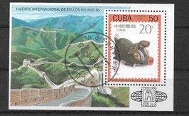 CUBA Block 139 gestempelt
