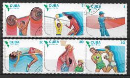 CUBA 2747-2752 gestempelt