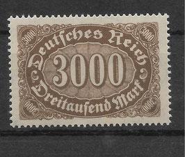 Deutsches Reich FREIMARKE ZIFFERN 254b postfrisch (INFLA)