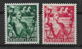 Deutsches Reich MACHTERGREIFUNG 660-661 ungebraucht