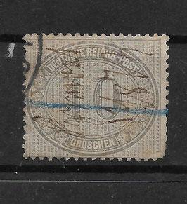 Deutsches Reich INNENDIENST 12 Federzug entwertet (BPP KRUG) (2)