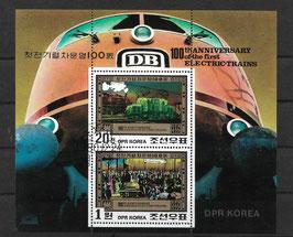 Nordkorea Kleinbogen 2068-2069 gestempelt