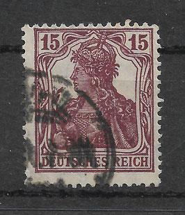 Deutsches Reich GERMANIA 142a gestempelt (BPP BAUER)