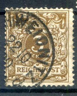 Deutsches Reich KRONE/ADLER 45a gestempelt (BPP JÄSCKHE)