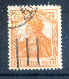 Deutsches Reich GERMANIA 99a gestempelt (BPP BAUER)