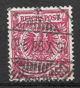 Deutsches Reich KRONE/ADLER 47d gestempelt (BPP WIEGAND)