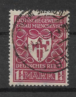 Deutsches Reich GEWERBESCHAU 199c gestempelt (INFLA) (3)