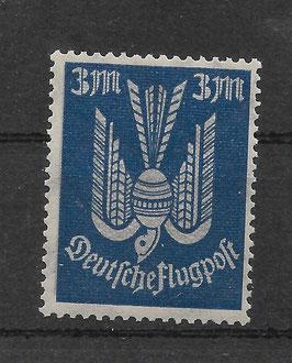 Deutsches Reich FLUGPOST HOLZTAUBE 217a postfrisch (INFLA)