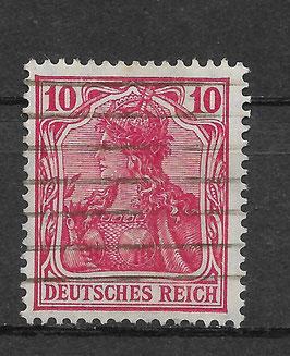Deutsches Reich GERMANIA 86 IIa gestempelt (BPP JÄSCHKE)