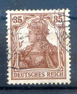 Deutsches Reich GERMANIA 103a gestempelt (BPP BAUER) (2)