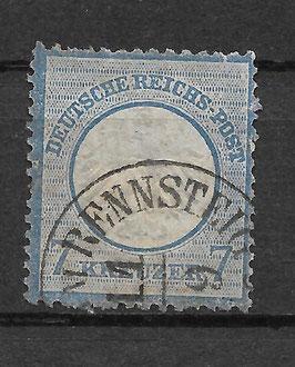 Deutsches Reich BRUSTSCHILD 10 gestempelt (BPP KRUG)