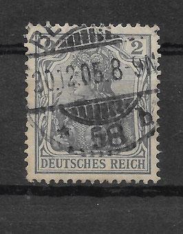 Deutsches Reich GERMANIA 83 I gestempelt (BPP JÄSCHKE) (V)