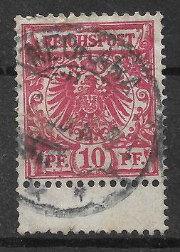 Deutsches Reich KRONE & ADLER 47d ZS gestempelt (BPP WIEGAND) (5)