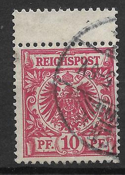 Deutsches Reich KRONE & ADLER 47d ZS gestempelt (BPP WIEGAND) (6)