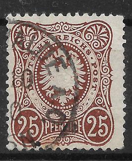 Deutsches Reich PFENNIGE 35a gestempelt (BPP WIEGAND) (6)