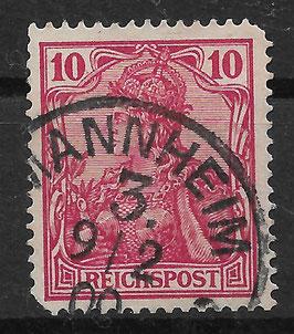 Deutsches Reich REICHSPOST 56a gestempelt (BPP JÄSCHKE) (2)