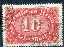 Deutsches Reich FREIMARKE 195 gestempelt