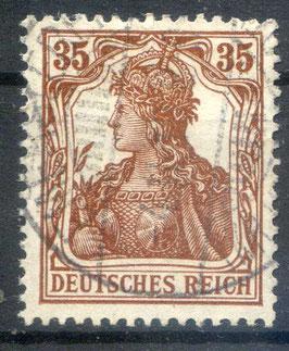 Deutsches Reich GERMANIA 103a gestempelt (BPP BAUER) (4)