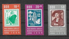 DDR 1056-1058 postfrisch