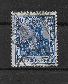 Deutsches Reich GERMANIA 87 Ia gestempelt (BPP JÄSCHKE)
