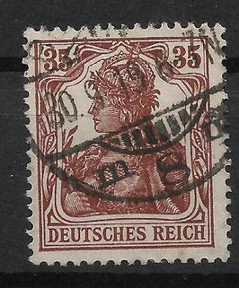 Deutsches Reich GERMANIA 103a gestempelt (BPP BAUER) (3)