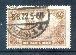 Deutsches Reich GERMANIA 114a gestempelt (BPP BAUER) (2)