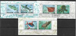 Nordkorea Kleinbogensatz 3393-3398 gestempelt