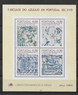Portugal Block 42 postfrisch (2)