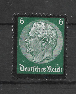 Deutsches Reich TOD von PAUL v. HINDENBURG 550 ungebraucht