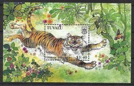 TUVALU Block 61 postfrisch