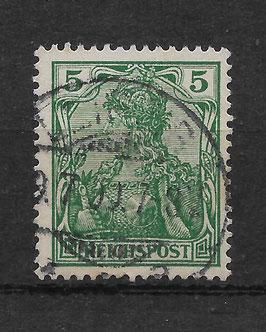 Deutsches Reich REICHSPOST 55 gestempelt (V)