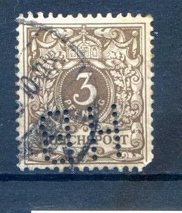 Deutsches Reich KRONE/ADLER 45b gestempelt (BPP JÄSCHKE) (II)