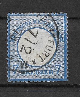 Deutsches Reich BRUSTSCHILD 10 gestempelt (BPP KRUG) (2)