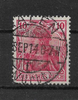 Deutsches Reich GERMANIA 86 Ib gestempelt (BPP JÄSCHKE) (II)