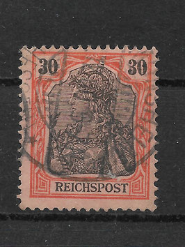 Deutsches Reich REICHSPOST 59 gestempelt (V)