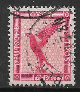 Deutsches Reich FLUGPOST ADLER 379 gestempelt
