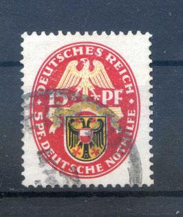 Deutsches Reich NOTHILFE LANDESWAPPEN 432 gestempelt