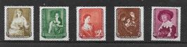 DDR 693-697 postfrisch